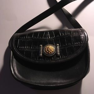 Handbags - Brighton Cross body black bag